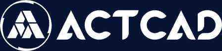 ActCAD 2022 - IntelliCAD 10.1 - Logo ActCAD Europe | DWG Editor | Converter PDF to DXF